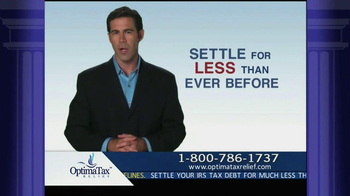 Optima Tax Relief TV Spot, 'IRS Forgiveness'