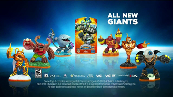 Skylanders Giants TV Spot 'The Crusher'