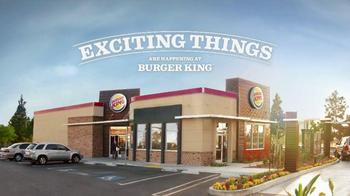 Burger King Cinnabon Minibon Rolls and Ginbread Cookie Treats TV Spot - Thumbnail 1