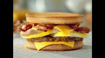 Jack in the Box Loaded Breakfast Sandwich TV Spot, 'Ate His Face' - Thumbnail 5