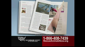 Humane Society TV Spot, 'Rescue Animals Now' Featuring Wendie Malick - Thumbnail 6