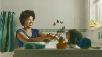 Lysol Disinfectant Sptay TV Spot, 'Bath Time' - Thumbnail 3