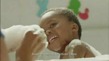 Lysol Disinfectant Sptay TV Spot, 'Bath Time' - Thumbnail 6