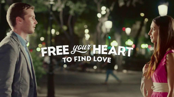 eHarmony TV Spot, \'Free Heart\' You Make My Dreams Come True Song