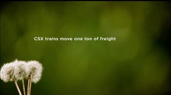 CSX TV Spot, '500 miles' - Thumbnail 1