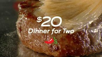 Chili's $20 Dinner for Two TV Spot 'Steak' - Thumbnail 1