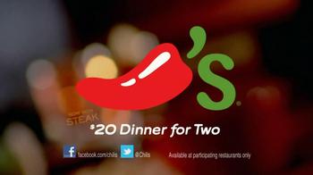 Chili's $20 Dinner for Two TV Spot 'Steak' - Thumbnail 8