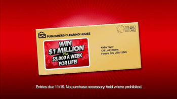 Publishers Clearing House TV Spot, 'Numb Legs' - Thumbnail 5