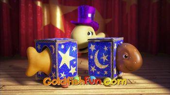 Goldfish Flavor Blasted TV Spot, 'Sawed in Half'