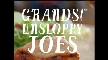 Pillsbury Grands! Flaky Layers TV Spot, 'Unsloppy Joe'