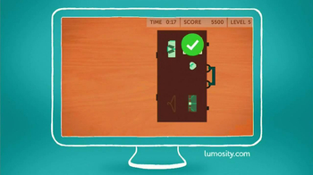 Lumosity TV Spot, 'Gym' - Thumbnail 10