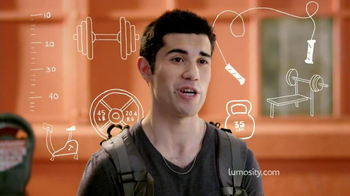 Lumosity TV Spot, 'Gym' - Thumbnail 3