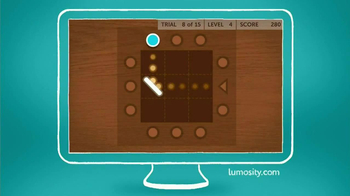 Lumosity TV Spot, 'Gym' - Thumbnail 9