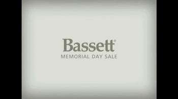 Bassett Memorial Day Sale TV Spot
