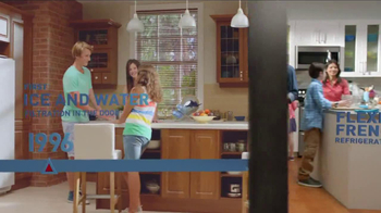 Frigidaire Flexible French-Door Refrigerator TV Spot, 'Legendary Innovation: Family in Kitchen' - Thumbnail 5