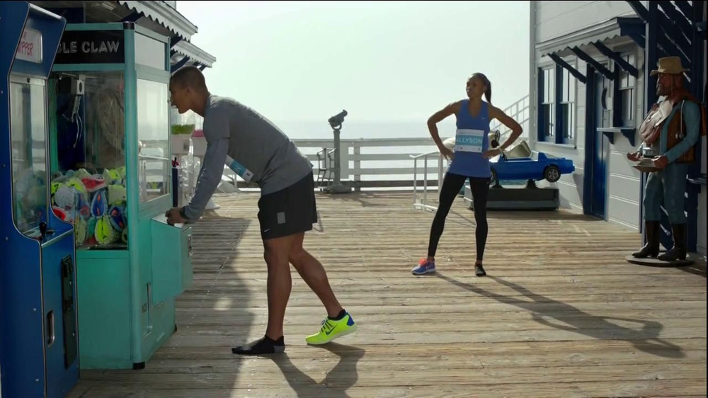 Nike Free TV Commercial, 'Toy Claw' Featuring Ashton Eaton and Allyson Felix