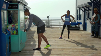 Nike Free TV Spot, 'Toy Claw' Featuring Ashton Eaton and Allyson Felix - 12 commercial airings