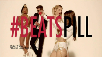 Beats Pill TV Spot, Song by Robin Thicke - 1063 commercial airings