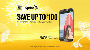 Sprint Truly Unlimited Data TV Spot, 'Summer' - 1737 commercial airings