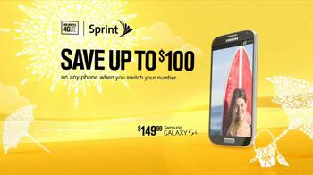 Sprint Truly Unlimited Data TV Spot, 'Summer' - Thumbnail 3
