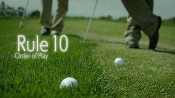 USGA TV Spot, 'Rules' - 34 commercial airings