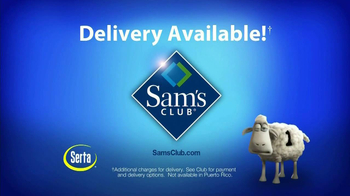 Sam's Club TV Spot, 'Serta' - Thumbnail 8