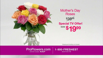 ProFlowers TV Spot, 'Mother's Day Roses' - Thumbnail 5