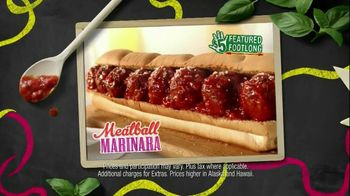 Subway Meatball Marinara TV Spot, 'May Values'