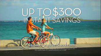 Nassau Paradise Island TV Spot, '$300 Instant Savings' - Thumbnail 10