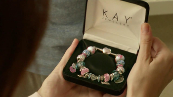 Kay Jewelers Charmed Memories TV Spot, 'Baby Monitor: Mother's Day: NFL Charms' - Thumbnail 6