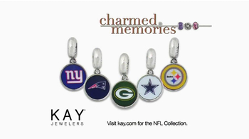 Kay Jewelers Charmed Memories TV Spot, 'Baby Monitor: Mother's Day: NFL Charms' - Thumbnail 9
