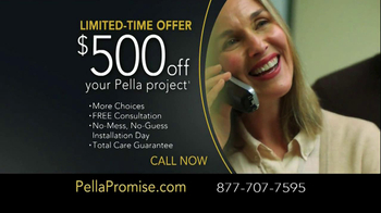 Pella Windows and Door Replacement TV Spot - Thumbnail 10