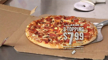 Domino's Pizza Carryout Special TV Spot, 'Not Kidding' - Thumbnail 3