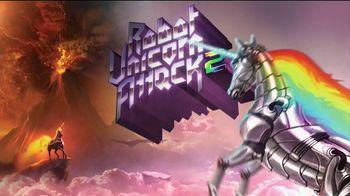 Robot Unicorn Attack 2 TV Spot, 'An Array of Unicorns' Song by Corey Hart