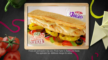 Subway Oven Roasted Chicken TV Spot, '$3 Select' - Thumbnail 5