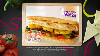 Subway Oven Roasted Chicken TV Spot, '$3 Select' - Thumbnail 6