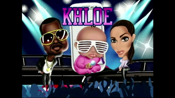 Jamster Baby Name Generator: Celebrity Edition TV Spot, 'Kim and Kanye' - Thumbnail 2