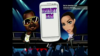 Jamster Baby Name Generator: Celebrity Edition TV Spot, 'Kim and Kanye' - Thumbnail 3