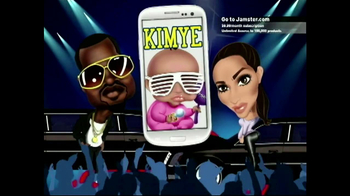 Jamster Baby Name Generator: Celebrity Edition TV Spot, 'Kim and Kanye' - 23 commercial airings