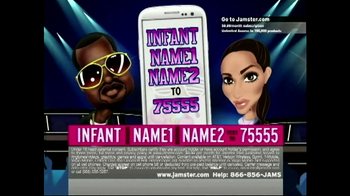 Jamster Baby Name Generator: Celebrity Edition TV Spot, 'Kim and Kanye' - Thumbnail 5