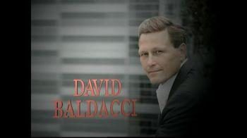 David Baldacci 'The Hit' TV Spot