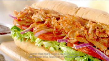 Subway Smokehouse BBQ Chicken TV Spot, 'Iron Man 3' - Thumbnail 6
