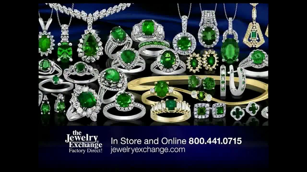 Jewelry Exchange  TV Commercial, 'Emeralds'