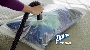 Ziploc Cube Bag & Flat Bag TV Spot, 'Smaller Closet' - Thumbnail 2