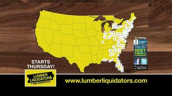 Lumber Liquidators Second Chance Hardwood Flooring Clearance TV Spot - Thumbnail 10