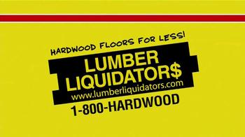 Lumber Liquidators Second Chance Hardwood Flooring Clearance TV Spot - Thumbnail 3