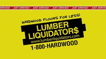 Lumber Liquidators Second Chance Hardwood Flooring Clearance TV Spot - Thumbnail 4