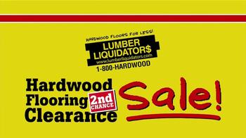 Lumber Liquidators Second Chance Hardwood Flooring Clearance TV Spot - Thumbnail 5