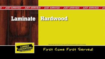 Lumber Liquidators Second Chance Hardwood Flooring Clearance TV Spot - Thumbnail 6