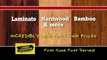 Lumber Liquidators Second Chance Hardwood Flooring Clearance TV Spot - Thumbnail 7